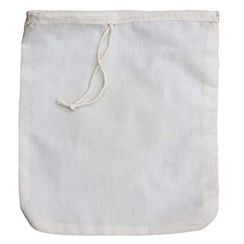 Filtro de algodón orgánico para zumos y batidos