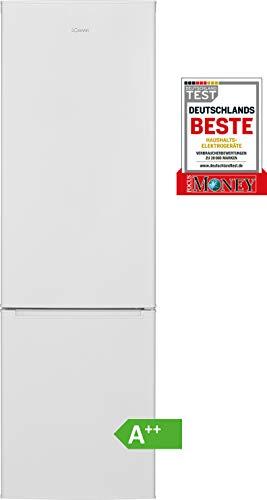 Bomann KG 7302 Kühl-/Gefrierkombination / EEK A++ / Kühlen 188 L / Gefrieren 64 L / Höhe 180,6 cm / Breite 54,5 cm / 190 kWh/Jahr