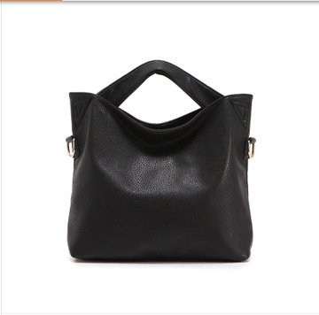 Mefly Fashion Lady Borsa Semplice Temperamento Bangalor Nero black