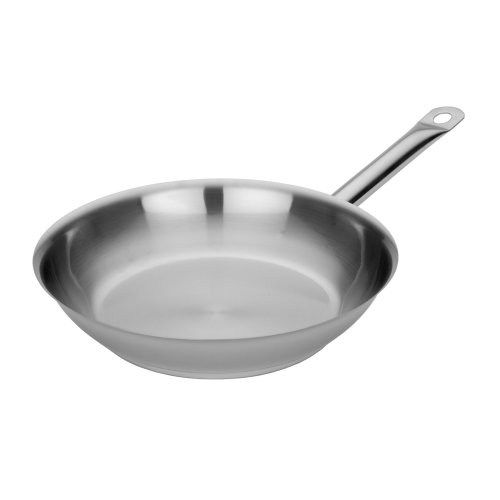 MIU France Tri-Ply Stainless Steel and Aluminum Open Fry Pan, 10-Inch Miu 10 Zoll