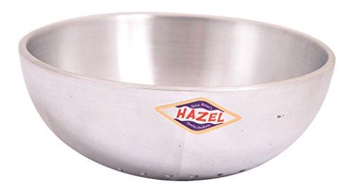 Hazel Aluminium Kadai Cookware Tasra 4mm 500 ml