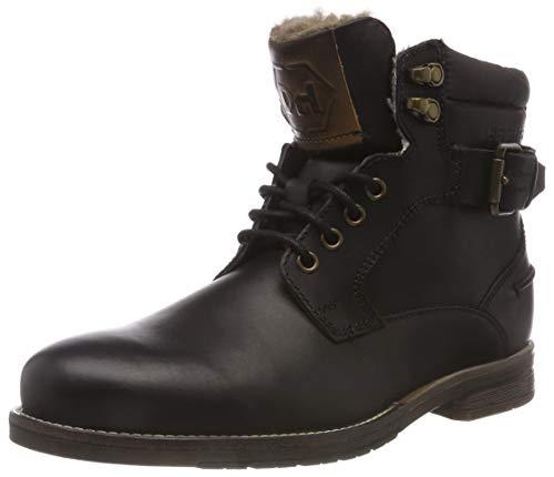 Daniel Hechter Herren 821582401200 Klassische Stiefel, (Schwarz 1000), 41 EU