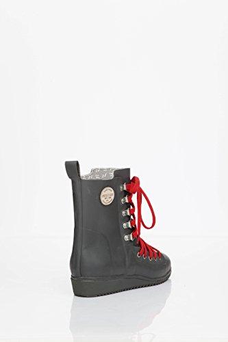 Nokian Footwear by Julia Lundsten - Bottes en caoutchouc -Lace Up- (Originals) [LU120] Gris