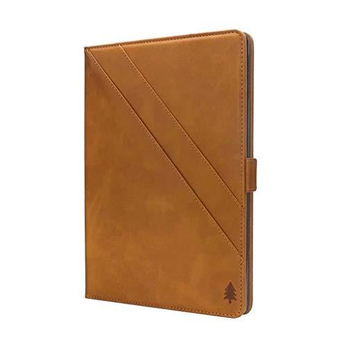 TIREOW Smart Leather Magnetic Case Schutzhülle Hüllen Hülle für Amazon All New Kindle 10th Generation 2019 6 Inch (Gelb) (Gelb Kindle Abdeckung)