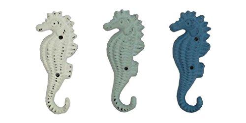 Metal Seahorse ganci 12cm