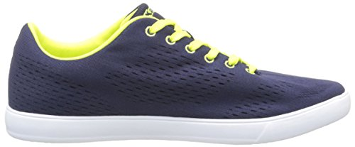 Kappa Dem, Baskets Basses homme Bleu (Blue Navy/Green Lime)