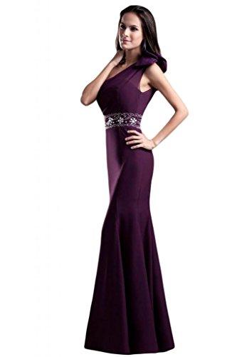 Sunvary Spaghetti, cinturino elastico, funzione vestiti da sera Gowns sera Chocolate