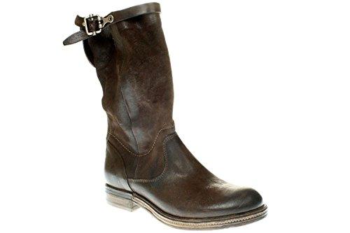 Stiefe Damen A Cowboy Boots s Braun 818312 0201 98 Bikerstiefelette TqIXqp