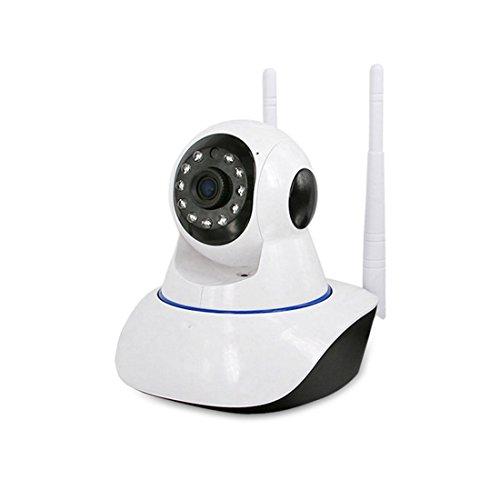 HaideClassic Monitoring Camcorder intelligente drahtlose WiFi Überwachungskamera Bewegungserkennung Unterstützung Nachtsicht Fernbetrachtung Baby Monitor 720P HD Auflösung kommt mit Schwenk / Neigung