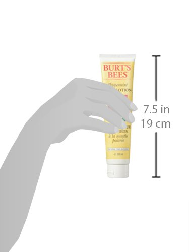Burt's Bees Peppermint Fußlotion, 1er Pack (1 x 100 g)