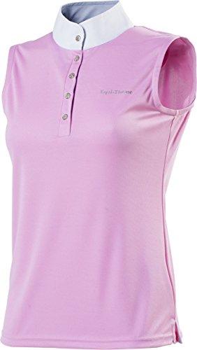 equi-thème Polo-Wettkampf-Shirt, für Reitsport, Damen-Mesh-ohne Ärmel-4verschiedene Farben -