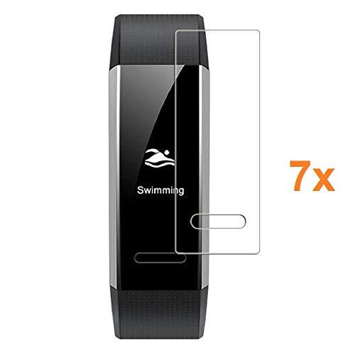 Pack 7X Bildschirmschutzfolie für Huawei Band 2 PRO, Premium-Qualität, Elektronik König®