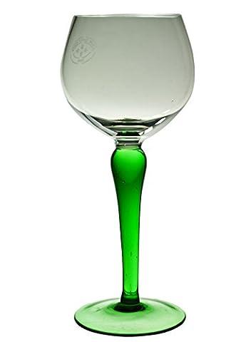 5 Green Retro Dessert Wein GLÄSER Minimalist Serving Jahrgang Klassische Englisch 1970 LS