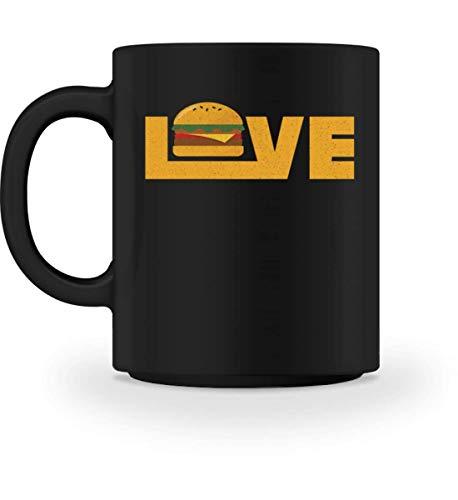 Chorchester Love Burger für alle Fans von Essen - Tasse