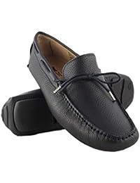 Zerimar Chaussures Bateau en Cuir Hommes   Chaussures Nautiques   Mocassins    Grandes Tailles 46- 43157543245b