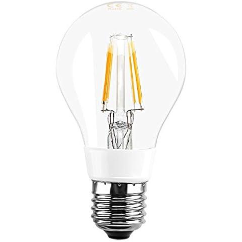 LE Bombillas LED G60 4W, Omni direccional, La pelota de golf Bombilla, Equivalente a una Bombilla Incandescentes de 40W, 480lm, Blanco