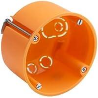 Meister - Caja de montaje para pared (10 unidades), color naranja