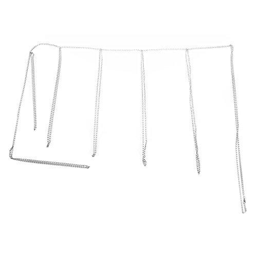 TOOGOO Metal Frauen Oberschenkel Multi Layer Taille Lange Bein Rüstung Kette Strumpfband K?rperschmuck -