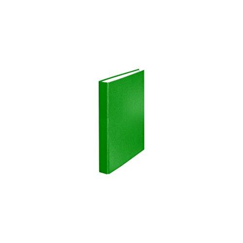 Falken PP-Color Kunststoff-Ringbuch 2 Ring-Mechanik DIN A5 Füllhöhe 25 mm grün Kalender Organizer Ring-Ordner Hefter Plastikordner