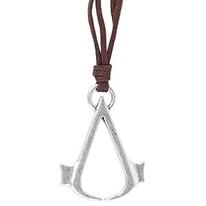 Assassin's Creed – Leder Halskette mit Logo