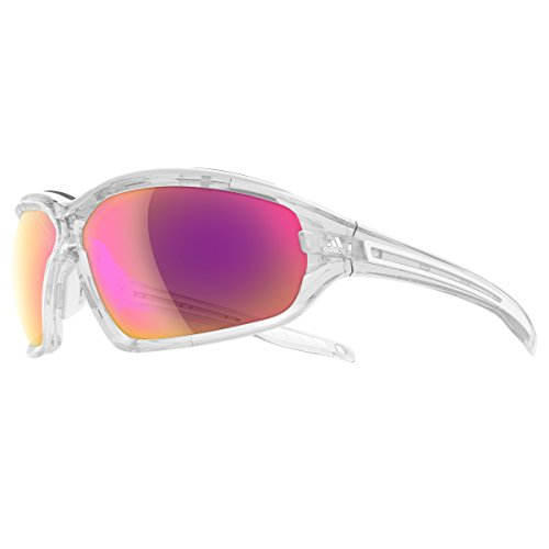 Adidas Brille a193 Evil Eye EVO Pro L crystal shiny 6070 LST Bright VARIO
