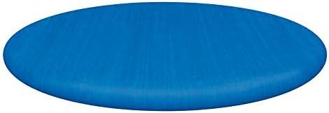 Bestway Flowclear PE-Abdeckplane, nur für Fast Set Pool, blau