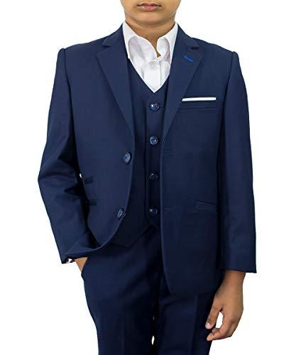 Cavani Jungen Anzug Blau Navy Gr. 6 Jahre, Navy