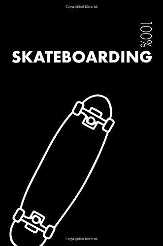 Skateboarding Notebook: Blank Lined Skateboarding Journal For Kids Skateboarder and Coach - College Ruled 120 Pages por Elegant Notebooks