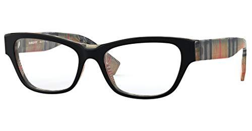Brillen Burberry BE 2302 BLACK BURBERRY CHECK Damenbrillen