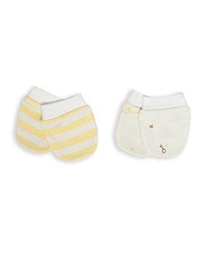 The Essential One -Baby Kratzhandschuhe für Neugeborene/Kratzfäustlinge/Kratzfäustel, Neugeborenenhandschuhe (2 Paar) - ESS120