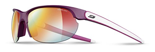 Julbo Breeze Zebra Light Sonnenbrille photochromiques Damen, Pflaume/weiß