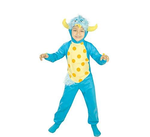 Déguisement de Petit Monstre Bleu pour garçon de 5 à 6 ans