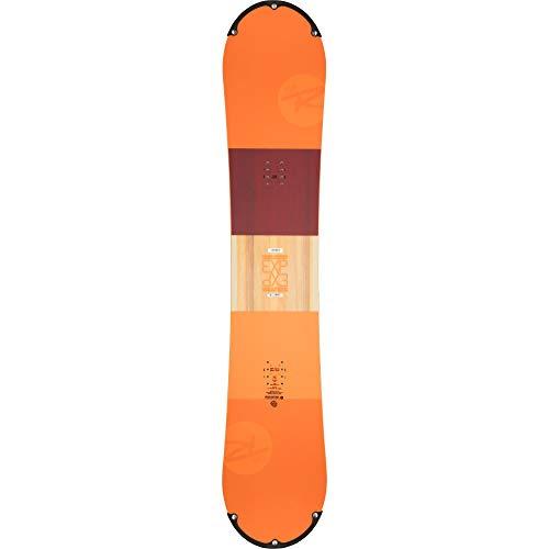 Rossignol exp regular - tavola da snowboard da uomo, colore: nero, arancione, 155 cm