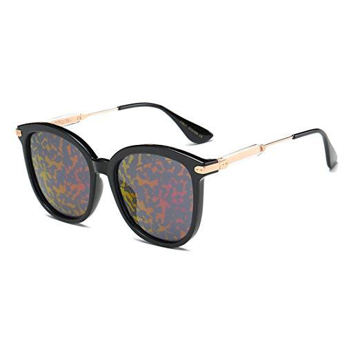 Yiph-Sunglass Sonnenbrillen Mode Persönlichkeit Katzenaugen-Dame Sonnenbrillen Polarisierte Linse Voller TR90 UV-Schutz für das Fahren. (Farbe : Red)