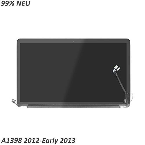 LCDOLED 15.4 zoll LED LCD komplett Bildschirm Assembly Display Einheit für Apple MacBook Pro Retina 15 A1398 mid 2012 early 2013 (Macbook Pro Lcd Display)