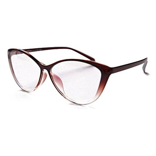 Juleya Cat Eye Brille für Männer Frauen - Mode Brillen Brillengestell 1229YJJ01
