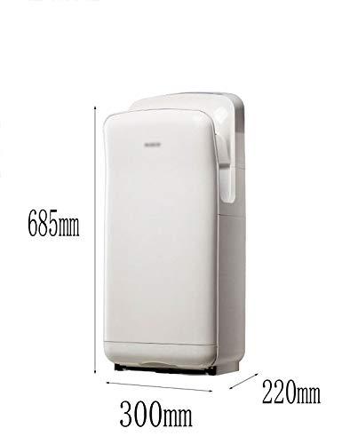 3102IiqOVBL - Double-sided Jet Smart Hand Dryer, Wall-mounted High Speed, No Noise, High Power, Commercial, Household, with UV…