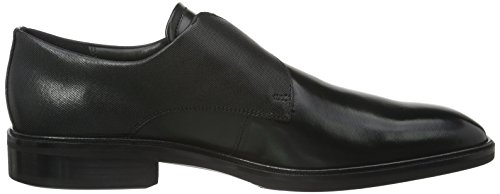 Ecco Illinois, Mocassins Homme Noir (BLACK01001)