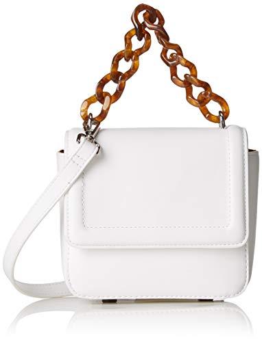 s.Oliver RED LABEL Damen Mini Bag mit Schmuck-Henkel white 1