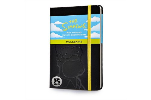 carnet-the-simpson-poche-noir-pages-blanches-edt-limitee