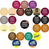 Nescafe-Nescafé Dolce Gusto variété (24Sabores, 26gousses)...