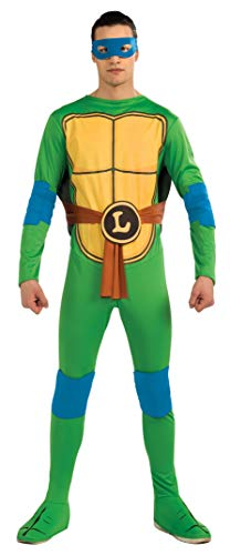 Männer Ninja Kostüm Teenage Turtles Mutant - AEC-CS987248-Kostüm-Leonardo Schildkröte Ninja-TMNT, GrößeM