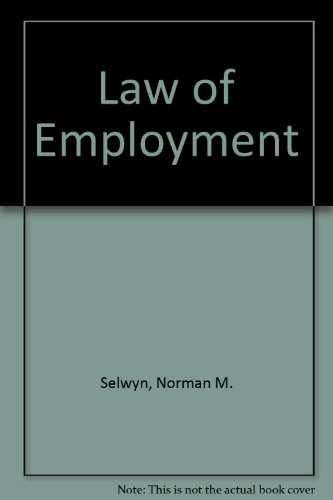 Law of Employment