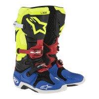 Alpinestars Tech 10Black/Yellow/Blue/Red 43