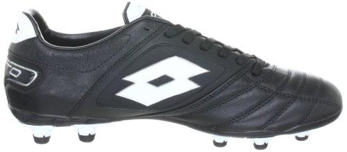 Lotto Sport Stadio Potenza Fg N4518, Scarpe Da Calcio Uomo Nero (Schwarz (Black/White))