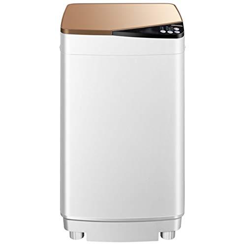 Kleine Mini-Waschmaschine - Vollautomatische Kompaktwaschmaschine FüR Familien/SchlafsäLe 429 * 433 * 747 MM (Blau, Gold) -