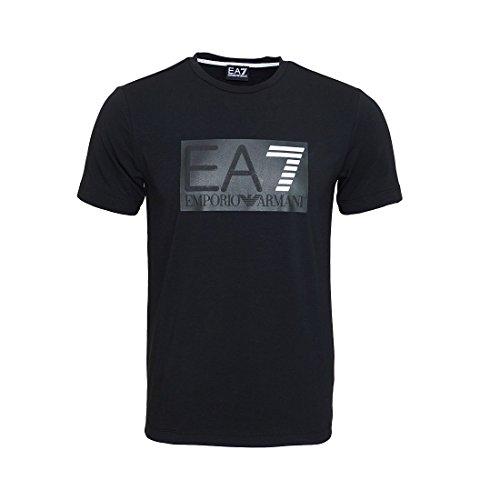 Emporio Armani EA7 T-Shirt Block-Logo Herren e5a76f56753