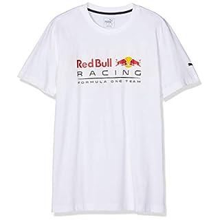 Puma Men's RBR Logo T-Shirt, White, Large