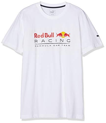 Puma Redbull Racing T- T-Shirt Homme, Blanc (White), X-Large