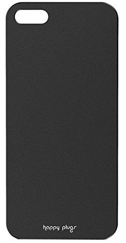 Happy Plugs Étui à rabat pour Apple iPhone 5/5S, noir, Noir noir